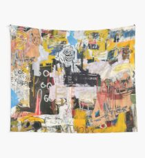 Basquiat World Wall Tapestry