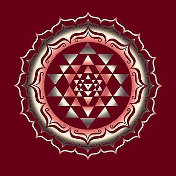 Shri Yantra, Yoga, Buddhismus by nitty-gritty