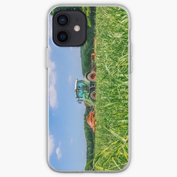 Fendt tondre l'herbe pour l'ensilage Coque souple iPhone