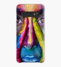 Painted Face Case/Skin for Samsung Galaxy