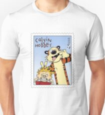 Calvin and Hobbes - stamp Unisex T-Shirt