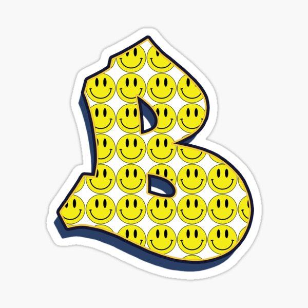 Letter B - Smile Sticker
