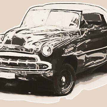 Classic Car by RealBooBear