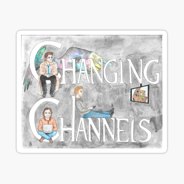 Changing Channels Sticker