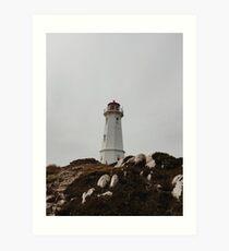 Cape Breton Lighthouse Art Print