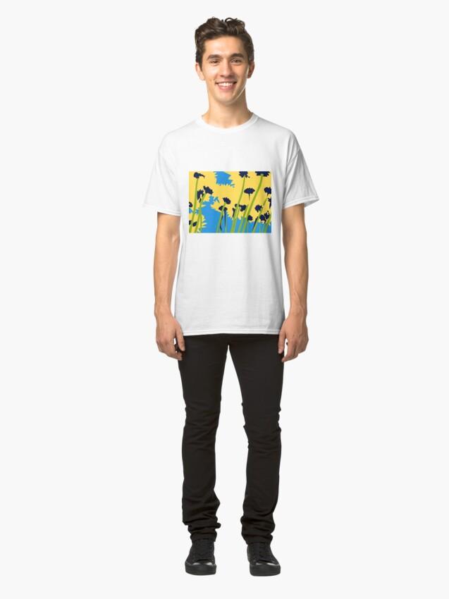 Alternate view of Friendship Flowers Classic T-Shirt