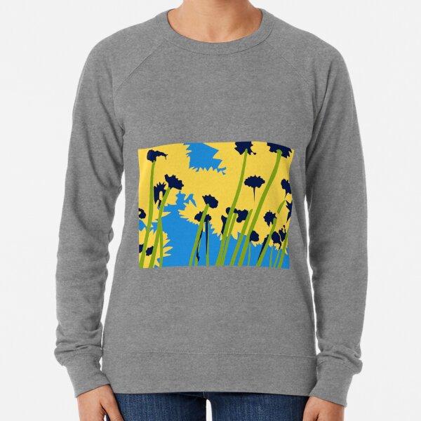 Friendship Flowers Lightweight Sweatshirt