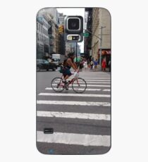 Zebra crossing, New York City, Manhattan, Brooklyn, New York, streets, buildings, pedestrians, #NewYorkCity, #Manhattan, #Brooklyn, #NewYork, #streets, #buildings, #skyscrapers, #cars, #pedestrians Case/Skin for Samsung Galaxy