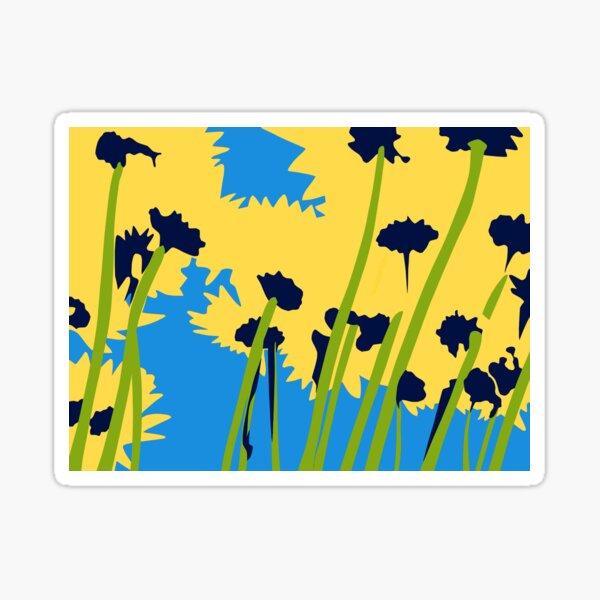 Friendship Flowers Sticker