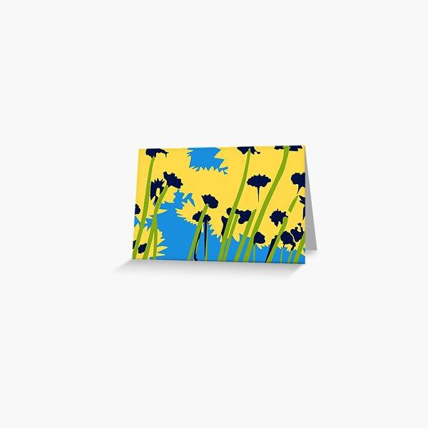 Friendship Flowers Greeting Card