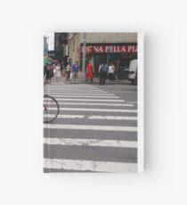 Zebra crossing, New York City, Manhattan, Brooklyn, New York, streets, buildings, pedestrians, #NewYorkCity, #Manhattan, #Brooklyn, #NewYork, #streets, #buildings, #skyscrapers, #cars, #pedestrians Hardcover Journal