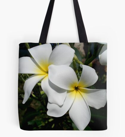 Frangipani/Plumeria Tote Bag