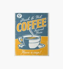 Vintage poster- Coffee Art Board