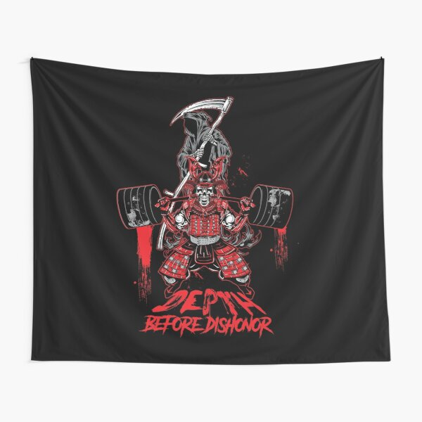 Depth Before Dishonor Tapestry