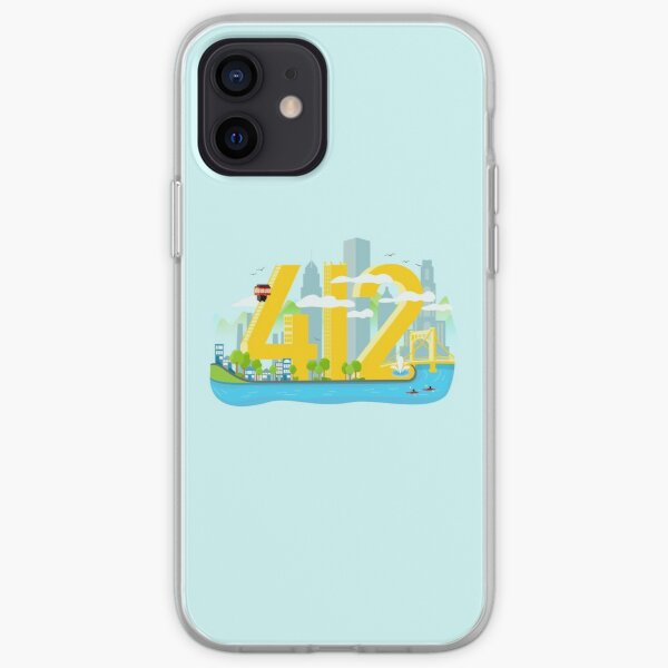 412 Pittsburgh  iPhone Soft Case