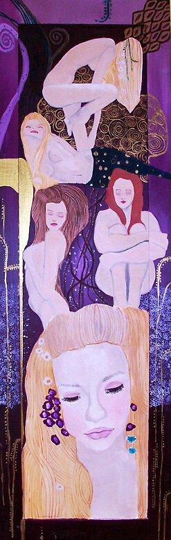I Wanna Be A Klimt Girl by scjohnson2