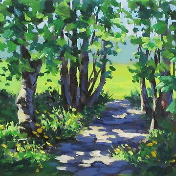 Path in the Park II by karenilari