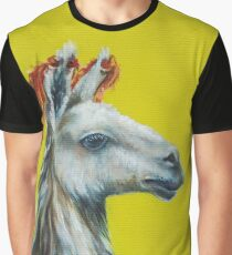 oil painting, lime on yellow background Graphic T-Shirt