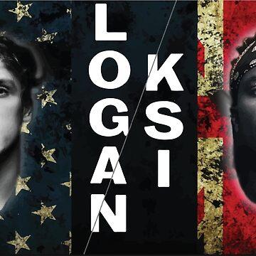 Logan Paul vs KSI  by SimpleDesignes
