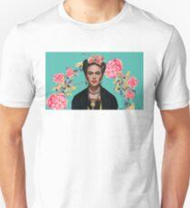 Camiseta unisex Mujer fuerte de Frida Kahlo Mujer mexicana feminista