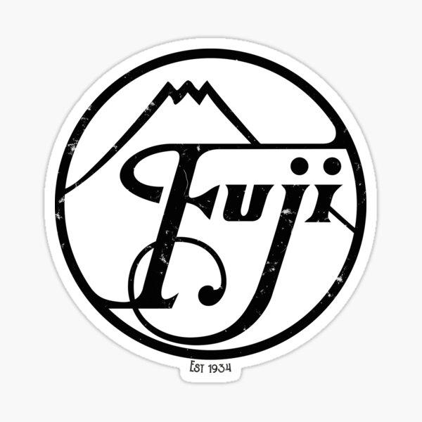 Vintage Fujifilm logo BLACk- 1934 Sticker