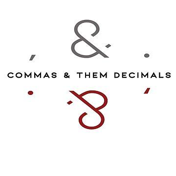 Commas & them Decimals by MissKellyEwing