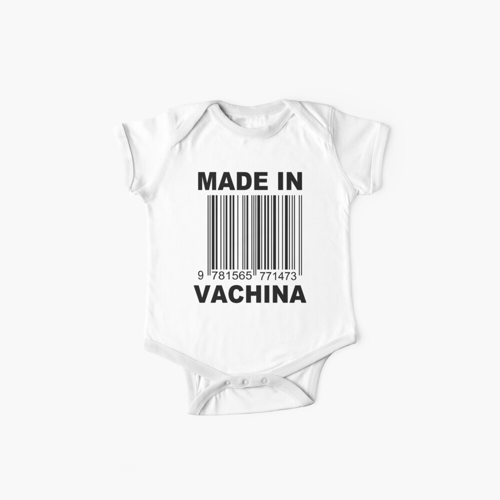Made in Vachina Baby onesie Baby One-Piece