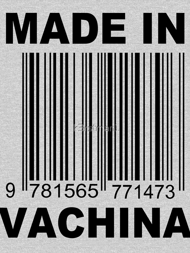 Made in Vachina Baby onesie by k3rstman1