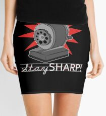 Old Fashion Pencil Sharpener Stay Sharp Mini Skirt