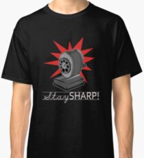 Old Fashion Pencil Sharpener Stay Sharp Classic T-Shirt