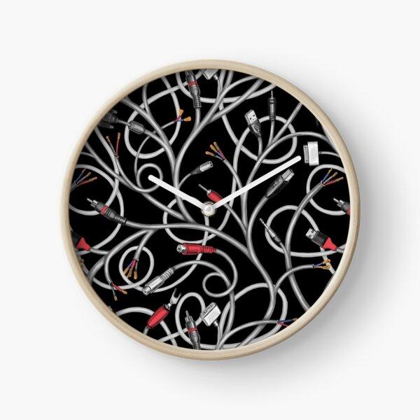 Victoria Contreras Flores WIRED BINDWEED (black) Reloj