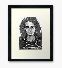 Portrait of Enfys Nest Framed Print