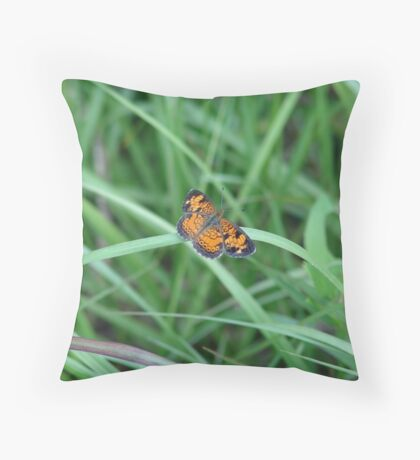Pearl Crescent Throw Pillow