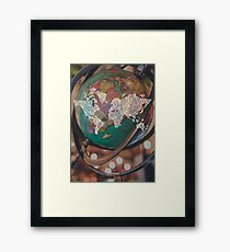 world around  Framed Print