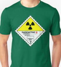 Radioactive Warning! Unisex T-Shirt