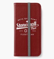 Stonewall Fleet wear 08 #1 iPhone Wallet/Case/Skin