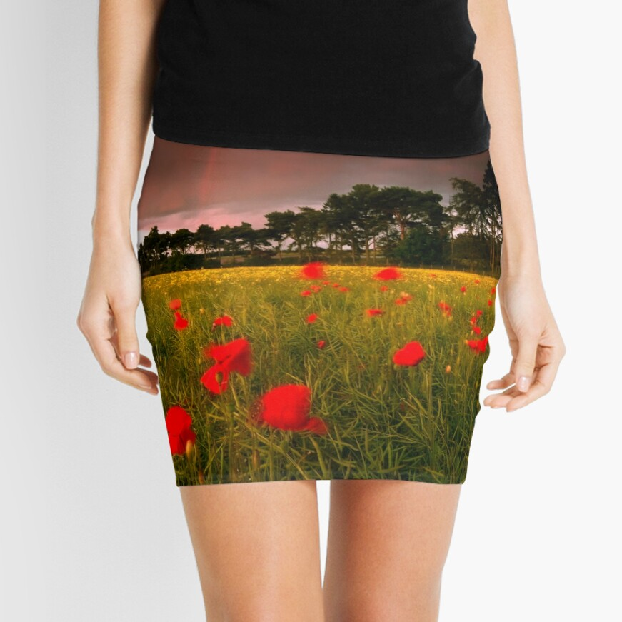Cross Country Mini Skirt