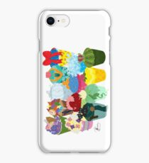 The Princess Cupcake Collection II  iPhone Case/Skin