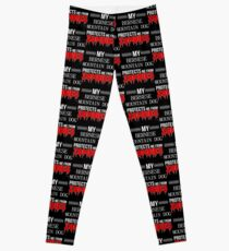 Zombie Bernese Mountain Dog - Gift For Bernese Mountain Dog Owner  Leggings