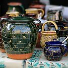 Zilina: Wire Crafted Pottery by Kasia-D
