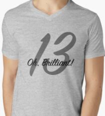 Thirteenth Doctor Oh Brilliant Men's V-Neck T-Shirt