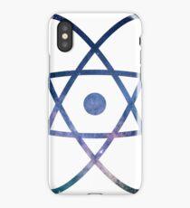 Galaxy Science Atom Symbol Version 2 iPhone Case