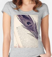 Bookmark Women's Fitted Scoop T-Shirt