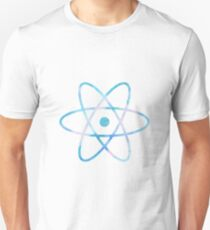 Water Color Science Atom Symbol Unisex T-Shirt