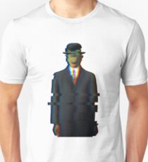 Glitched Son of Man Unisex T-Shirt