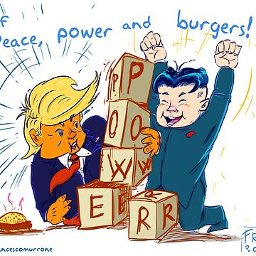 Peace, power and burgers! by FMMr
