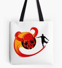 Football Head of Death Tote Bag