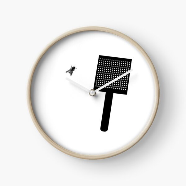 Fly Swatter Clock