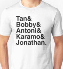 Queer Eye Tan Bobby Antoni Karamo & Jonathan Unisex T-Shirt