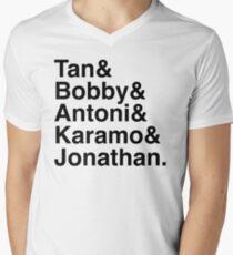 Queer Eye Tan Bobby Antoni Karamo & Jonathan Men's V-Neck T-Shirt